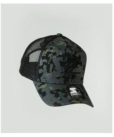 Fresh Ego Kid Mesh Trucker Cap Camo-Fresh Ego Kid-Gym Wear