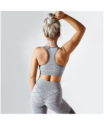 Workout Empire SHMN Sports Bra Grey