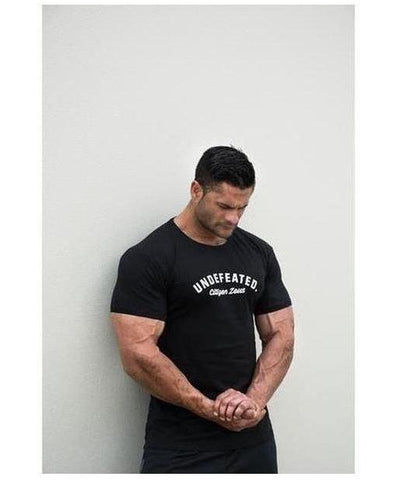 Citizen Zeus Undefeated T-Shirt Black-Citizen Zeus-Gym Wear