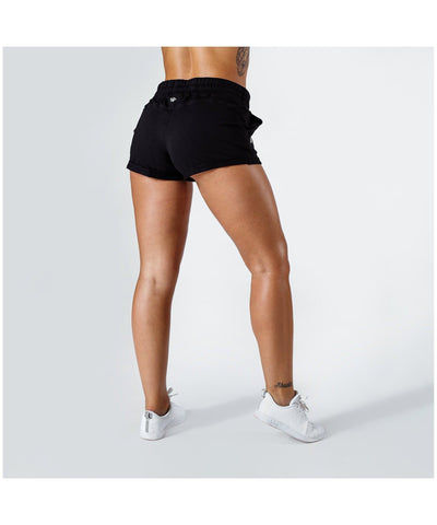 Workout Empire Core Sweat Shorts Black-Workout Empire-Gym Wear