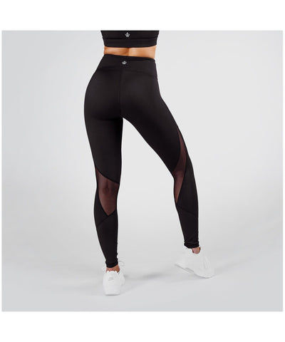 1212e0a951fefb Pursue Fitness Allure High Waisted Leggings Reflective Lines Black ...