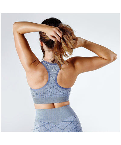 Workout Empire SHMN Sports Bra Blue-Workout Empire-Gym Wear