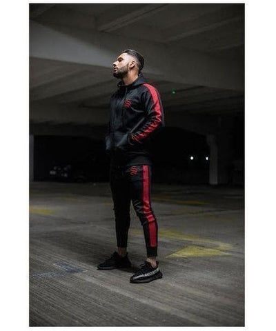 Sinners Attire Poly Track Joggers Black-Sinners Attire-Gym Wear