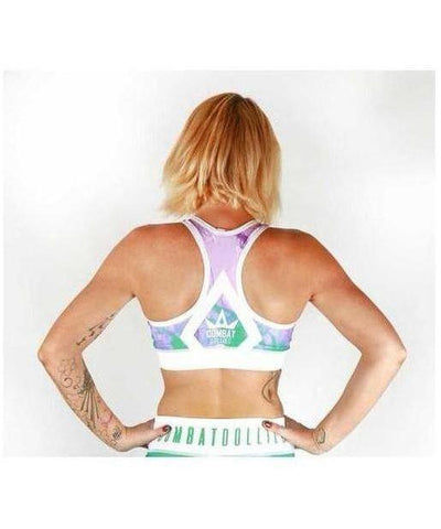 Combat Dollies Smoking Candy Sports Bra-Combat Dollies-Gym Wear