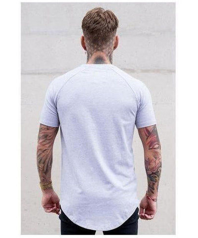 Sinners Attire Core T-Shirt Grey-Sinners Attire-Gym Wear