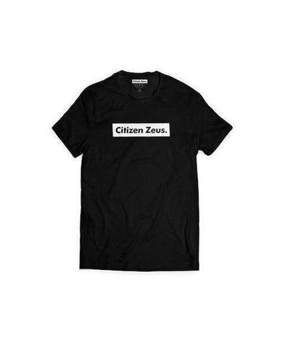 Citizen Zeus Box Logo T-Shirt Black-Citizen Zeus-Gym Wear