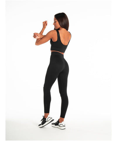 Pursue Fitness ADAPT Seamless Leggings Blackout-Pursue Fitness-Gym Wear