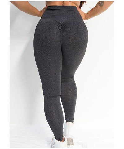 Stop It I Like It Earl Grey High Waisted Scrunch Leggings-Stop It I Like It-Gym Wear