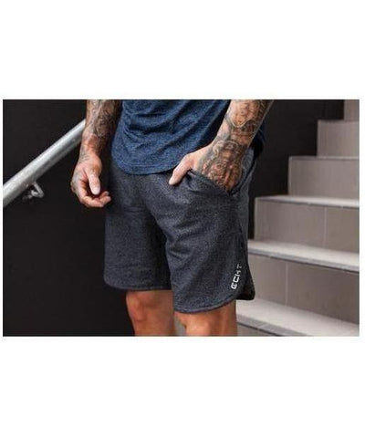 Echt Impetus Knit Shorts Obsidian-Echt-Gym Wear