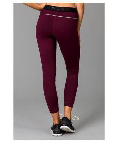 Fitwear Vivid Leggings Purple-Fitwear-Gym Wear