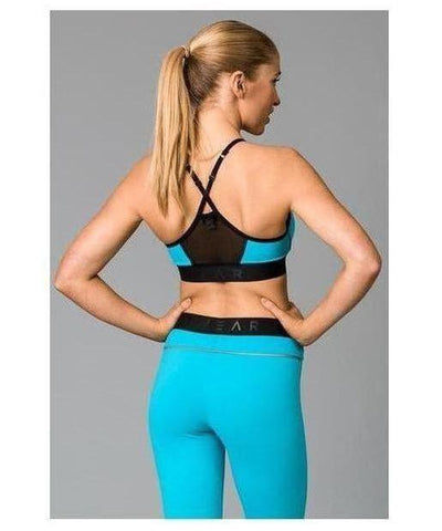 Fitwear Vivid Sports Bra Turquoise