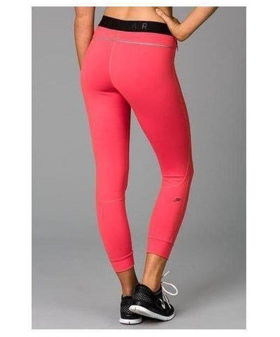Fitwear Vivid Leggings Coral-Fitwear-Gym Wear