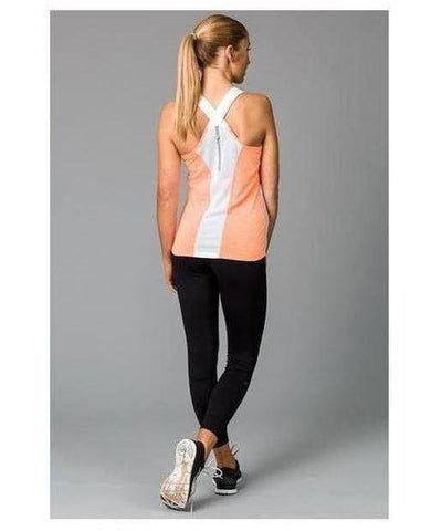 Fitwear Sweat Less Sport Vest Orange-Fitwear-Gym Wear