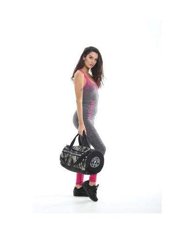 Gold's Gym Barrel Sports Bag Camo