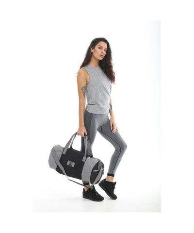 Gold's Gym Contrast Barrel Bag-Golds Gym-Gym Wear