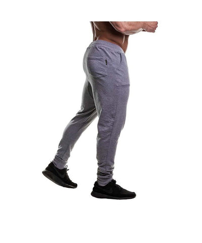 Gold's Gym Tapered Jogger Grey-Golds Gym-Gym Wear