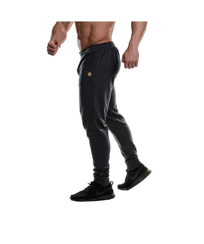 Gold's Gym Tapered Jogger Charcoal-Golds Gym-Gym Wear