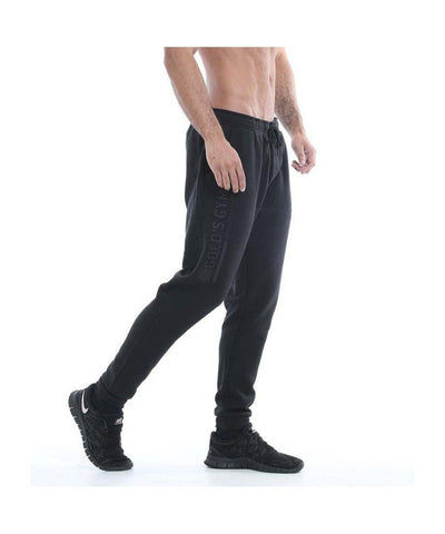 Gold's Gym Embossed Jogger Black-Golds Gym-Gym Wear