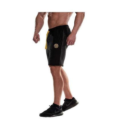 Gold's Gym Sweat Shorts Black-Golds Gym-Gym Wear