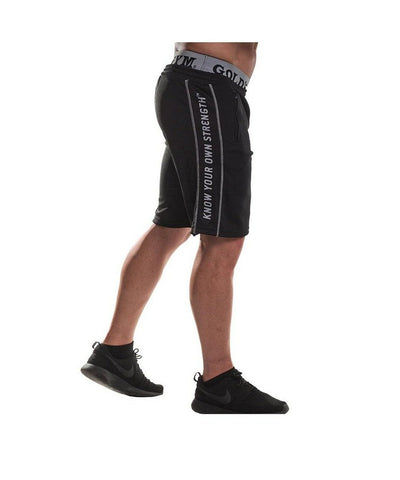 Gold's Gym Vintage Shorts Black-Golds Gym-Gym Wear