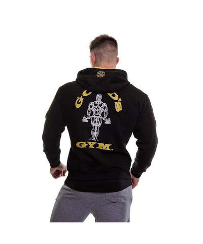Gold's Gym Muscle Joe Zip Up Hoodie Black
