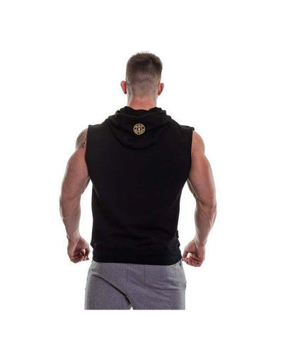 Gold's Gym Muscle Joe Sleeveless Hoodie Black