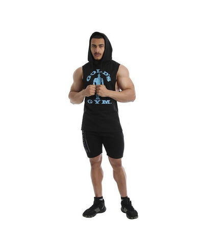 Gold's Gym Drop Armhole Hoodie Black