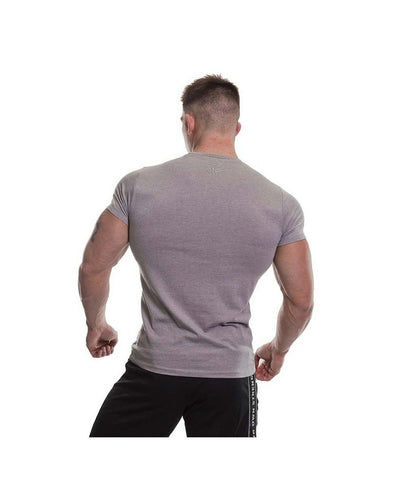 Gold's Gym Vintage Gym T-Shirt Grey Marl-Golds Gym-Gym Wear