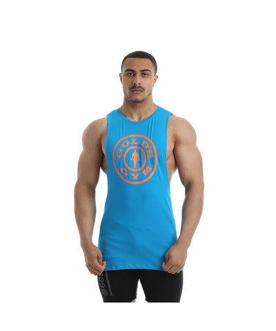 Gold's Gym Performance Stretch Vest Blue