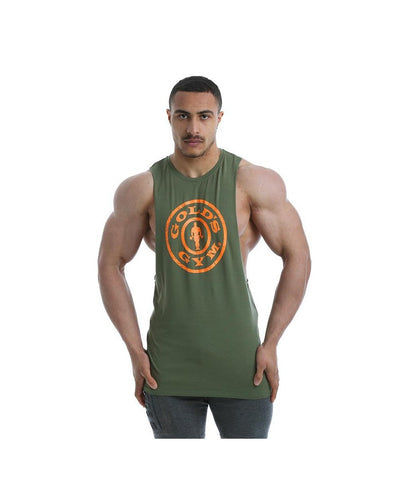 Gold's Gym Performance Stretch Vest Green