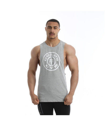 Gold's Gym Performance Stretch Vest Grey