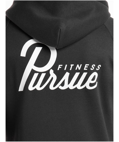 Pursue Fitness Classic Zip Up Hoodie 4.0 Charcoal-Pursue Fitness-Gym Wear