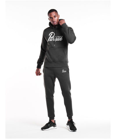 Pursue Fitness Classic Hoodie 4.0 Charcoal-Pursue Fitness-Gym Wear
