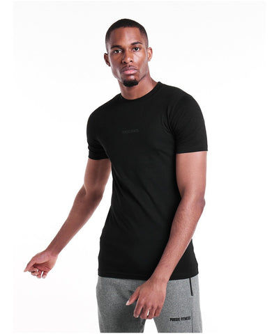 Pursue Fitness Everyday T-Shirt Black-Pursue Fitness-Gym Wear