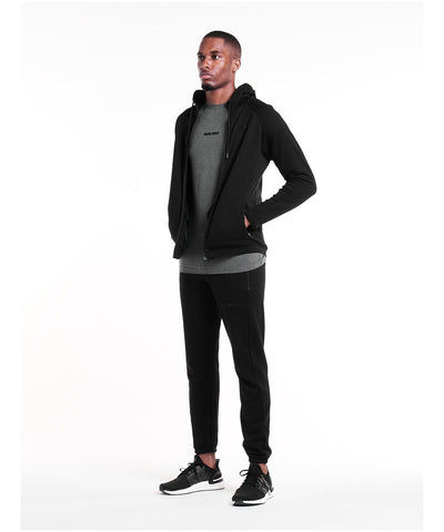 Pursue Fitness Everyday Zip Up Hoodie Black-Pursue Fitness-Gym Wear