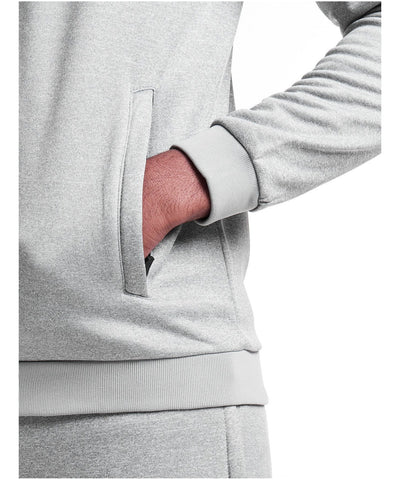 Pursue Fitness Poly Fleece Zip Up Hoodie Grey-Pursue Fitness-Gym Wear