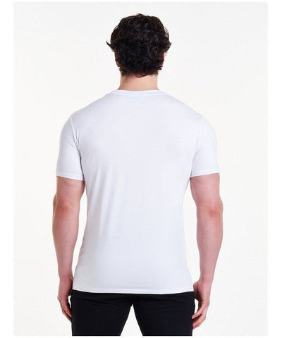 Pursue Fitness Classic T-Shirt White-Pursue Fitness-Gym Wear
