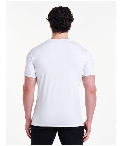 Pursue Fitness Classic T-Shirt White-Pursue Fitness-Gym Wear