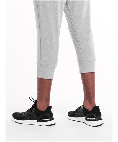 Pursue Fitness Pro Fit Tapered 3/4 Joggers Grey-Pursue Fitness-Gym Wear