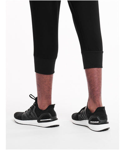 Pursue Fitness Pro Fit Tapered 3/4 Joggers Black-Pursue Fitness-Gym Wear