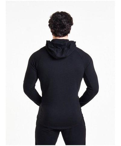Pursue Fitness Response Zip Up Hoodie Black-Pursue Fitness-Gym Wear