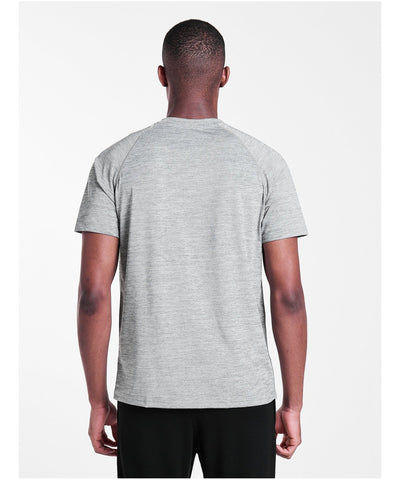 Pursue Fitness Breatheasy Eva T-Shirt Grey-Pursue Fitness-Gym Wear
