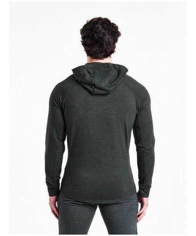 Pursue Fitness Response Zip Up Hoodie Charcoal-Pursue Fitness-Gym Wear