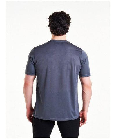 Pursue Fitness Mesh T-Shirt Grey-Pursue Fitness-Gym Wear