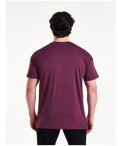 Pursue Fitness Comfort T-Shirt Maroon-Pursue Fitness-Gym Wear