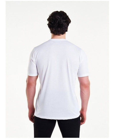Pursue Fitness Mesh T-Shirt White-Pursue Fitness-Gym Wear