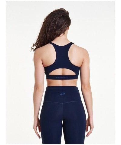 Pursue Fitness Evolve Sports Bra Navy-Pursue Fitness-Gym Wear