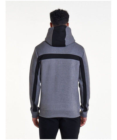 Pursue Fitness Hybrid 2.0 Zip Hoodie Grey-Pursue Fitness-Gym Wear