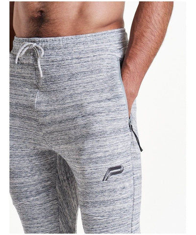 Pursue Fitness Stretch Fit Cuffed Joggers Grey-Pursue Fitness-Gym Wear