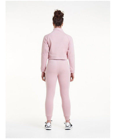 Pursue Fitness Retro Lounge Fleece Joggers Pastel Pink-Pursue Fitness-Gym Wear
